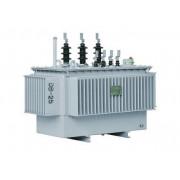 Hermetically sealed amorphous alloy power transformer