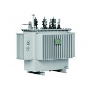 Hermetically sealed oil immersed power transformer