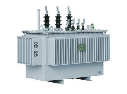 Hermetically sealed amorphous alloy power transformer